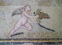 Hercules-villa-mozaikrészlet
